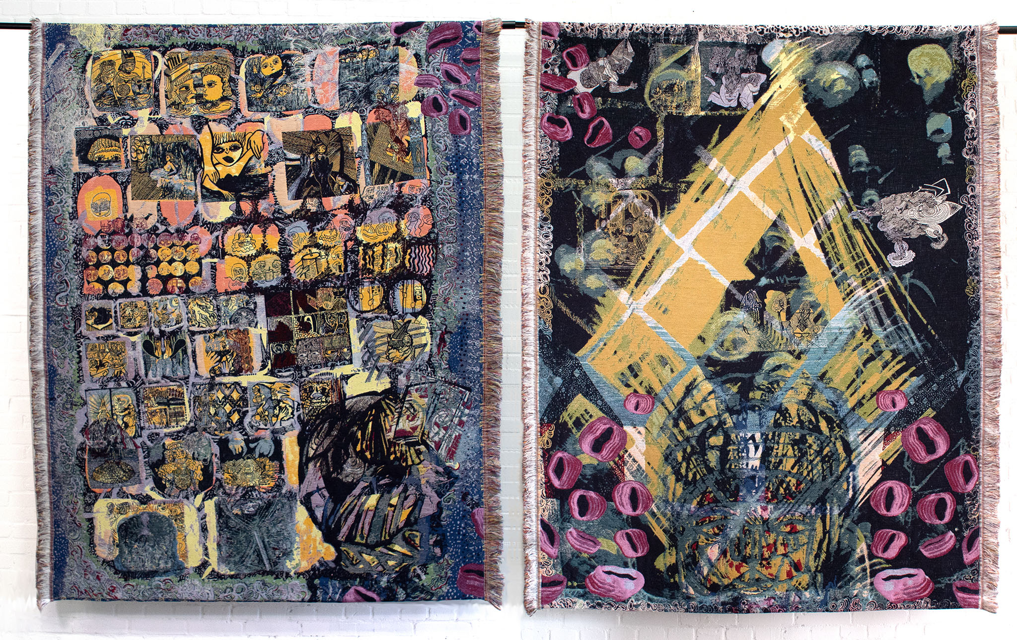 Donna Daantje Doina Tapestry Diptych